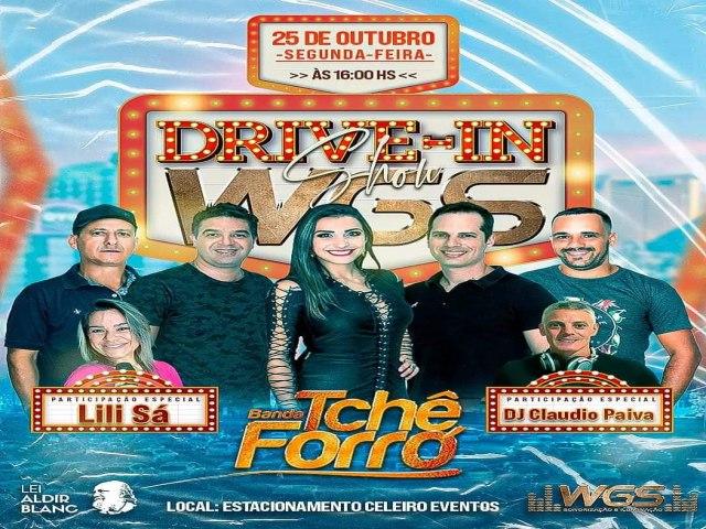 Evento Drive-in acontece na próxima segunda feira (25) em São José do Norte