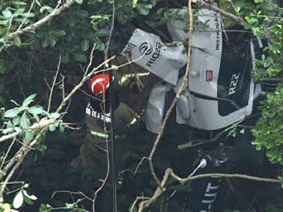 Visibilidade era péssima, diz caseiro que viu acidente de helicóptero