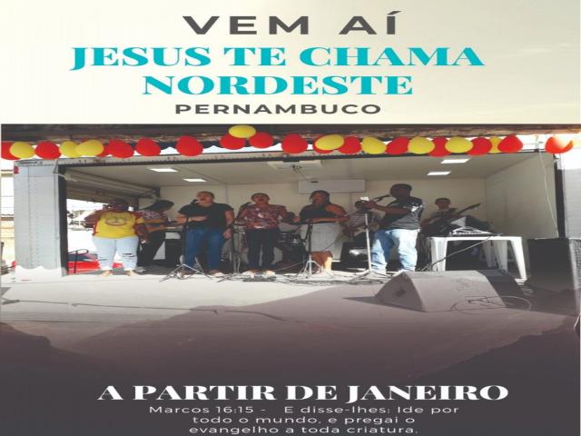 Jesus te chama Nordeste